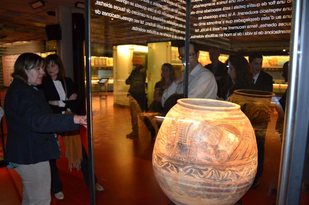 Visita guiada entre algunas de las principales piezas arqueológicas ilicitanas