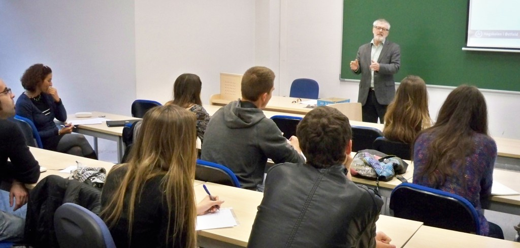 Geir Conrad Tufte on his session in the International Journalism Seminar