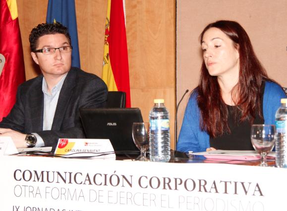 Pedro Torregrosa y Carolina Benavent // Foto: Olga Avellán