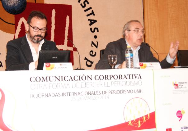 Miguel Carvajal y Jordi Román // Foto: Olga Avellán