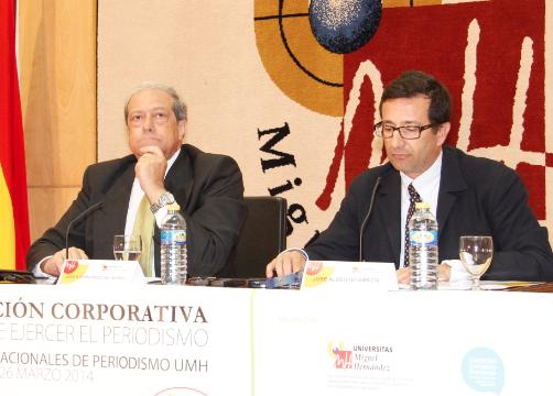 Javier Fernández del Moral y José Alberto García Avilés // Foto: Olga Avellán