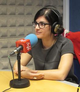 Maribel Hernández, periodista especializada en derechos humanos
