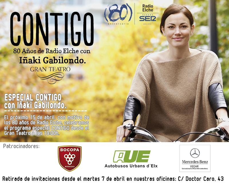 80 aniversario de Radio Elche, con Iñaki Gabilondo