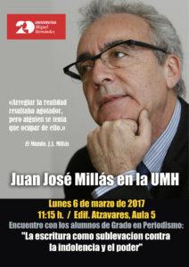 Juan José Millás visita la UMH